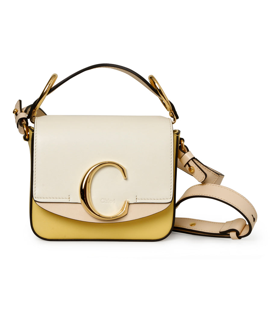 Tricolor C Buckle Bag