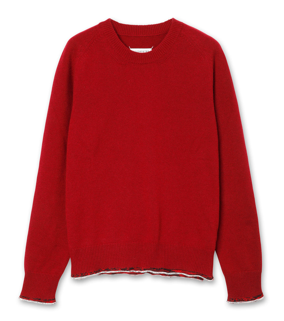 ELBOW PATCH KNIT