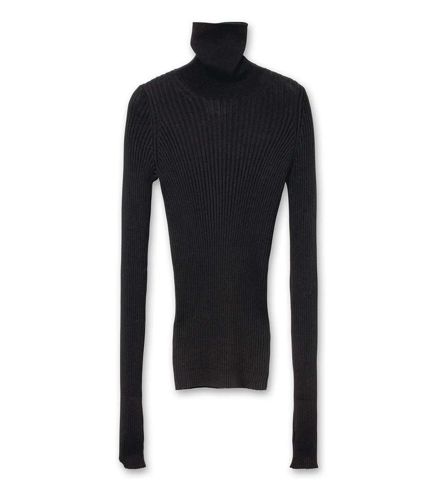 Rib Turtleneck