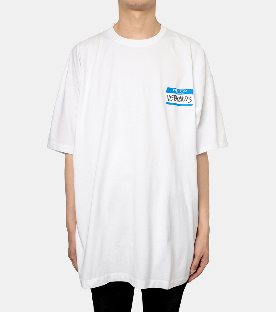 MY NAME IS VETEMENTS T-SHIRT