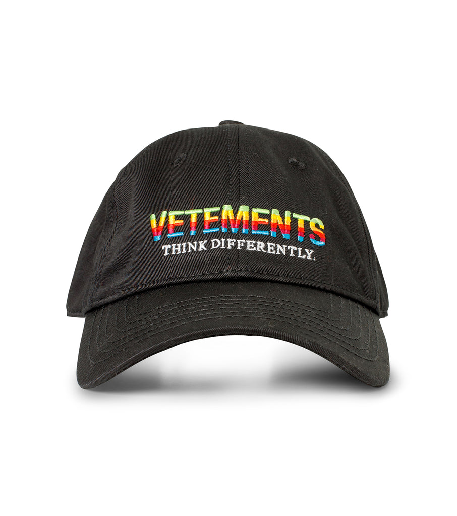 THINK DIFFERENTLY LOGO CAP
