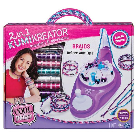 2 in 1 Kumi Kreator Cool Jewellery Maker - McGreevy's Toys Direct