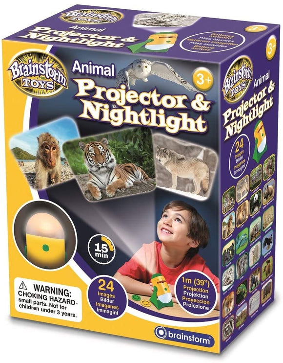 Animal Projector and Nightlight - McGreevy's Toys Direct