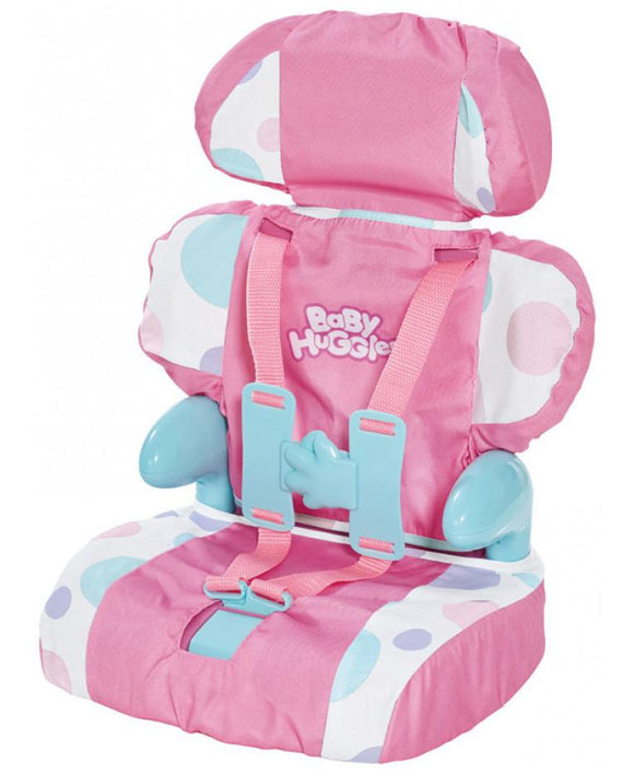 Baby Huggles Doll's Car Booster Seat - McGreevy's Toys Direct