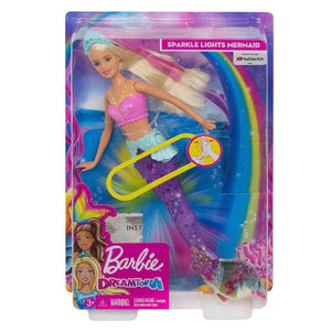 BARBIE Dreamtopia Sparkle Lights Mermaid - McGreevy's Toys Direct