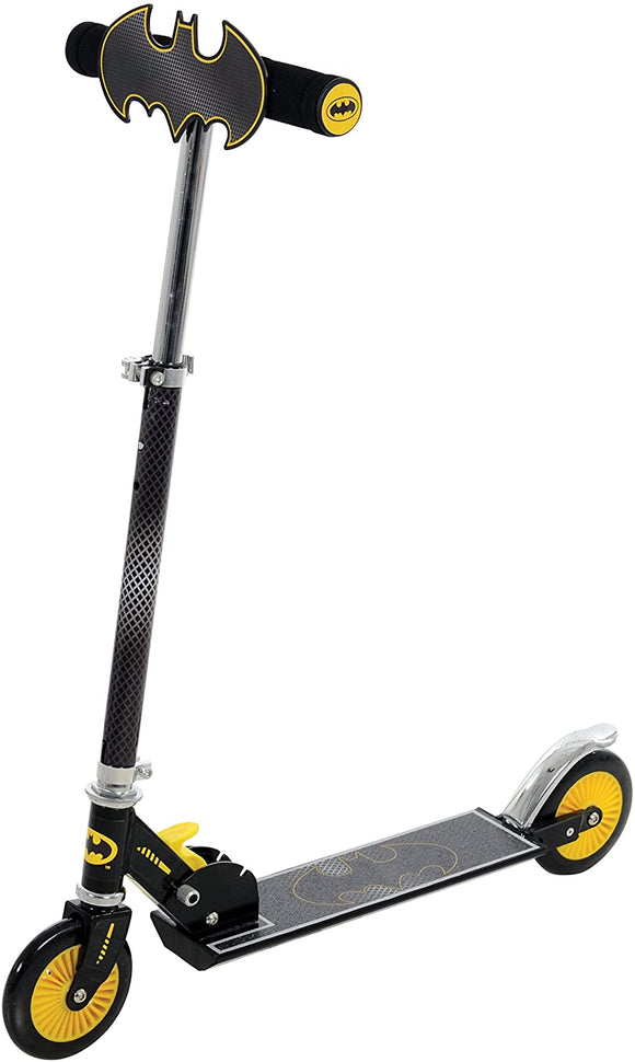 Batman Folding In-Line Scooter with Plaque - McGreevy's Toys Direct