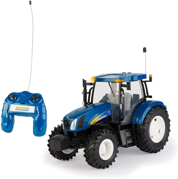 Britains Big Farm Radio Controlled New Holland T6070 Tractor 1:16 - McGreevy's Toys Direct