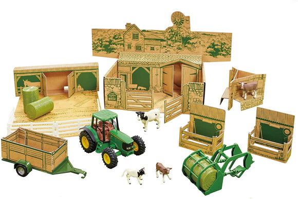 Britains John Deere Farm in a Box - McGreevy's Toys Direct