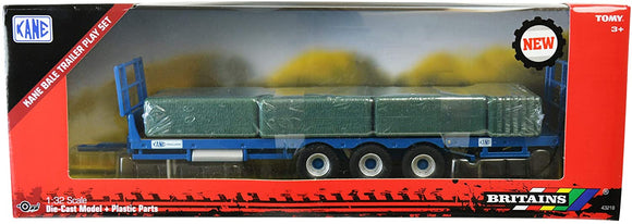 Britains Kane Bale Trailer Play-Set - McGreevy's Toys Direct