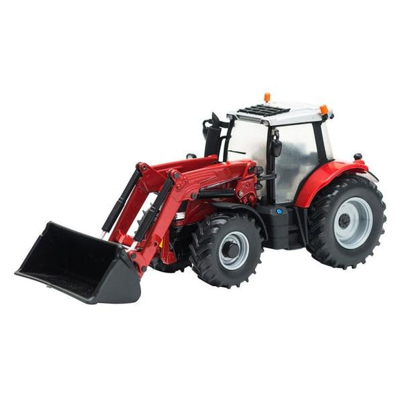 BRITAINS MAssey Ferguson 6616 Tractor with Front Loader - McGreevy's Toys Direct