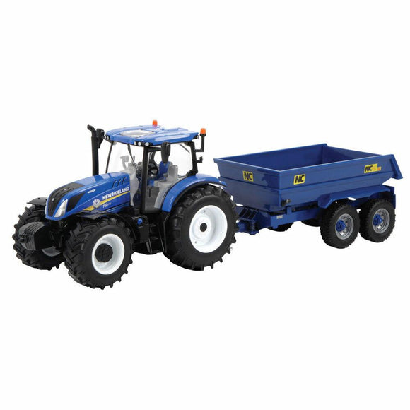 BRITAINS New Holland T6.175 with NC Dump Trailer - McGreevy's Toys Direct