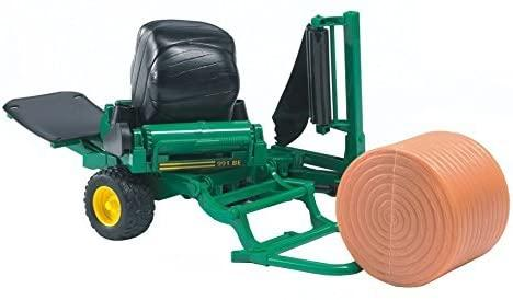 BRUDER 2122 Green BALE WRAPPER WITH BAL - McGreevy's Toys Direct