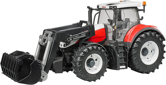 BRUDER 3181 Steyr 6300 Terrus CVT with Frontloader - McGreevy's Toys Direct