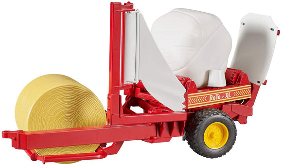 Bruder Bale Wrapper with Bales - McGreevy's Toys Direct