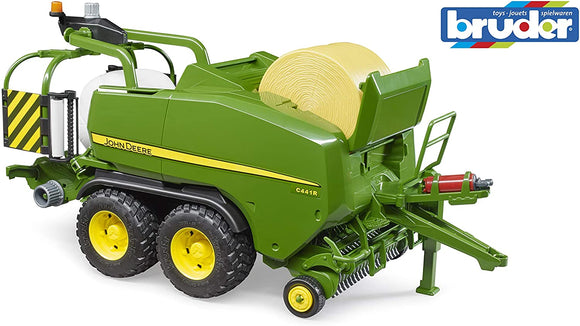 Bruder John Deere Wrapping Baler, Green - McGreevy's Toys Direct