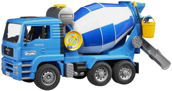 BRUDER Man TGA Cement Mixer - McGreevy's Toys Direct