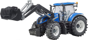 BRUDER New Holland T7.315 Tractor With Front Loader - McGreevy's Toys Direct