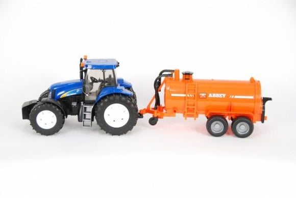 Bruder New Holland Tractor with Abbey Tanker 1:16 Scale - McGreevy's Toys Direct