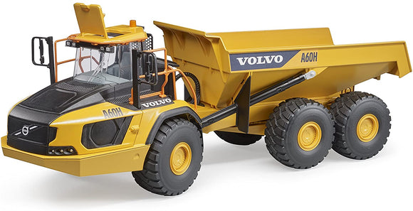 Bruder Volvo A60H Dumper 1:16 Scale - McGreevy's Toys Direct
