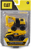 CAT Little Machines Plastic Vehicles 2 pack - Assorted - McGreevy's Toys Direct