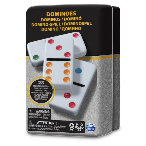 Classic Dominoes Tin - McGreevy's Toys Direct