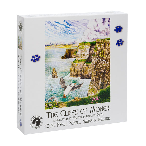 Cliffs of Moher 1000 Piece Puzzle - McGreevy's Toys Direct