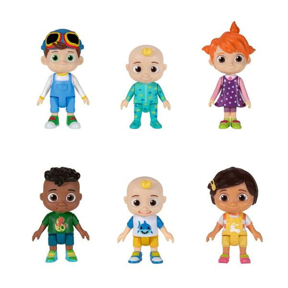 CoComelon Family and Friends 6 Figure Pack - McGreevy's Toys Direct
