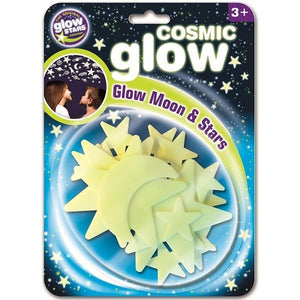 Cosmic Glow Moon & Stars Stickers - McGreevy's Toys Direct