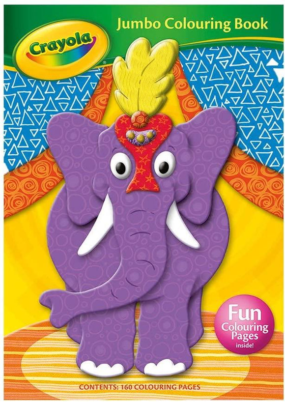 Crayola Jumbo Colouring Book - McGreevy's Toys Direct