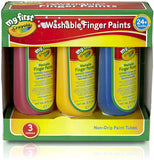 Crayola My First Washable Finger Paints - McGreevy's Toys Direct