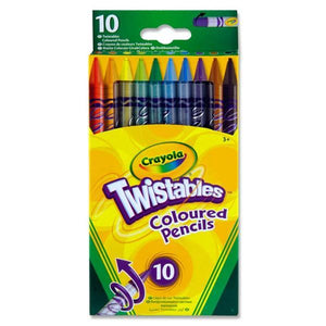 Crayola Twistables Colouring Pencils 10PK - McGreevy's Toys Direct