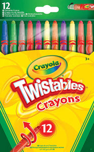 Crayola Twistables Crayons 12 Pack - McGreevy's Toys Direct