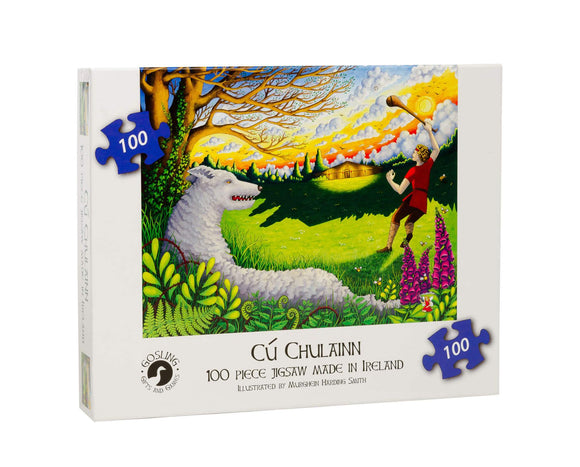 Cu Chulainn 100 Piece Puzzle - McGreevy's Toys Direct