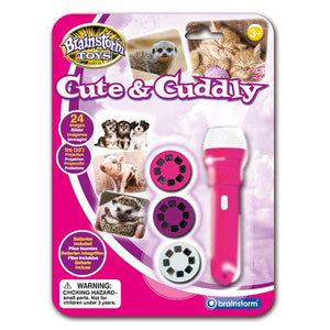 Cute & Cuddly Torch and Projector - McGreevy's Toys Direct