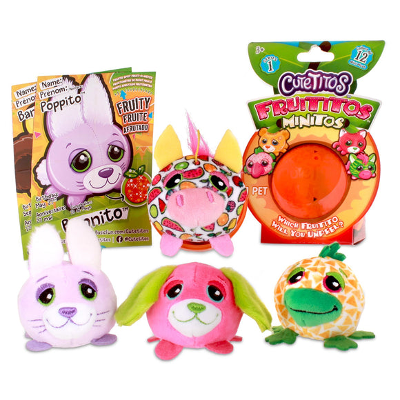 Cutetitos Fruititos Minitos, Assorted - McGreevy's Toys Direct