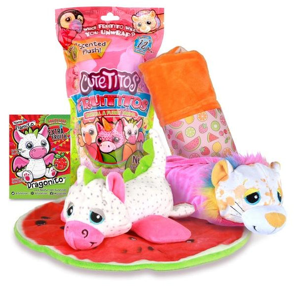Cutetitos Fruititos Scented Plush, Assorted - McGreevy's Toys Direct