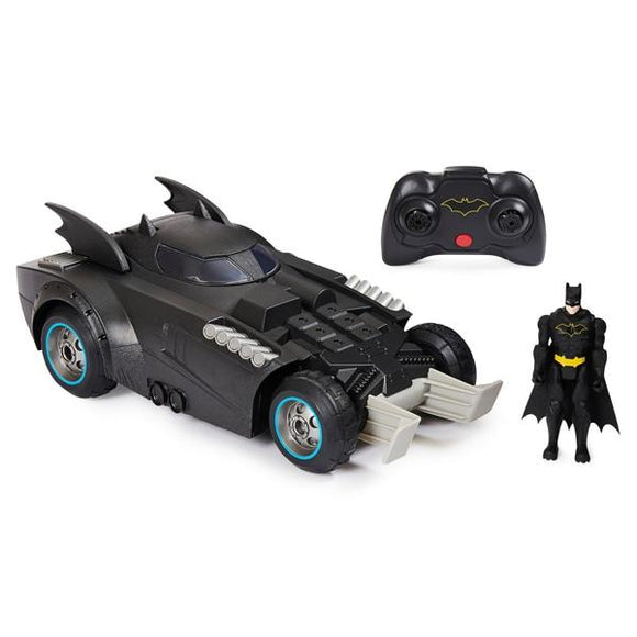 DC Batman Remote Control Launch & Defend Batmobile - McGreevy's Toys Direct