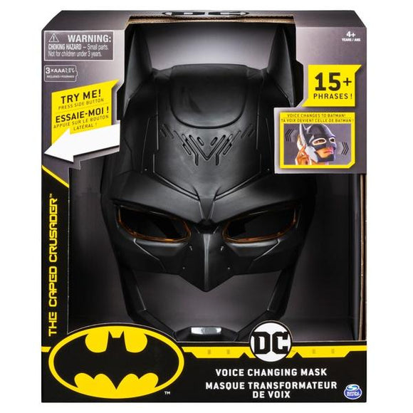 DC Batman Voice Changing Mask - McGreevy's Toys Direct
