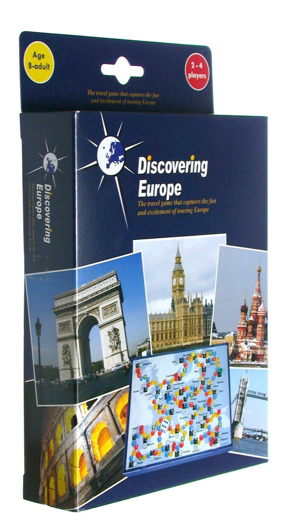 Discovering Europe Travel Size Game - McGreevy's Toys Direct