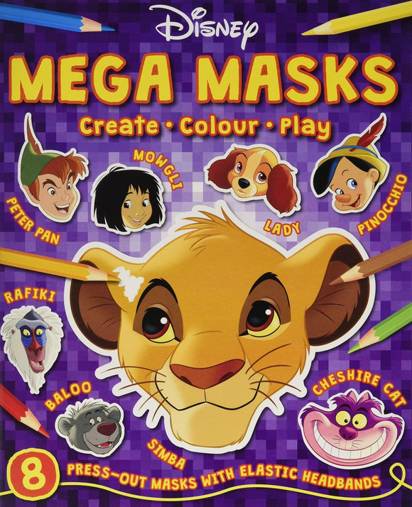 Disney Mega Masks - McGreevy's Toys Direct