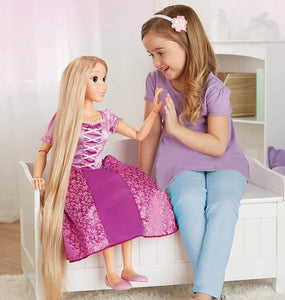 "Disney Princess 32"" Playdate Rapunzel Doll - McGreevy's Toys Direct"