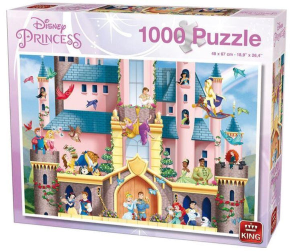 Disney Princess Magical Palace 1000 Piece Puzzle - McGreevy's Toys Direct