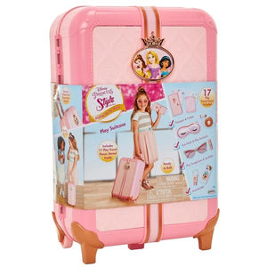 Disney Princess Style Collection Travel Suitcase - McGreevy's Toys Direct