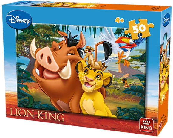 Disney The Lion King 50 Piece Jigsaw Puzzle, Assorted - McGreevy's Toys Direct