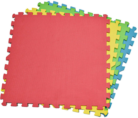 Extra Large 4-Piece Colourful Playmats - McGreevy's Toys Direct