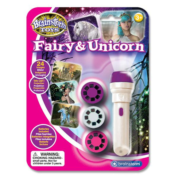 Fairy & Unicorn Torch and Projector - McGreevy's Toys Direct