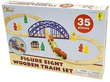 Figure Eight Wooden Train Set - McGreevy's Toys Direct