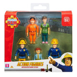 Fireman Sam Action Figures 5 pack - McGreevy's Toys Direct