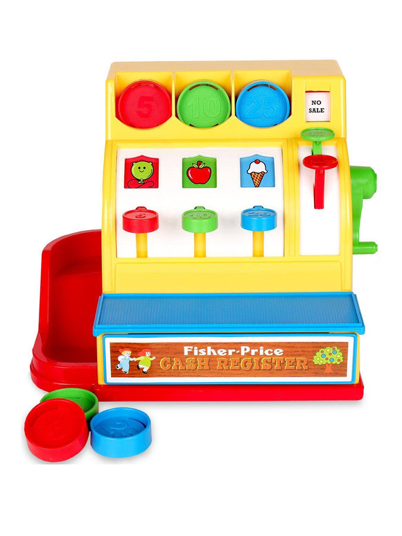 Fisher Price Classic Cash Register - McGreevy's Toys Direct