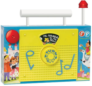 Fisher Price Classic Toys - Classic TV Radio - McGreevy's Toys Direct